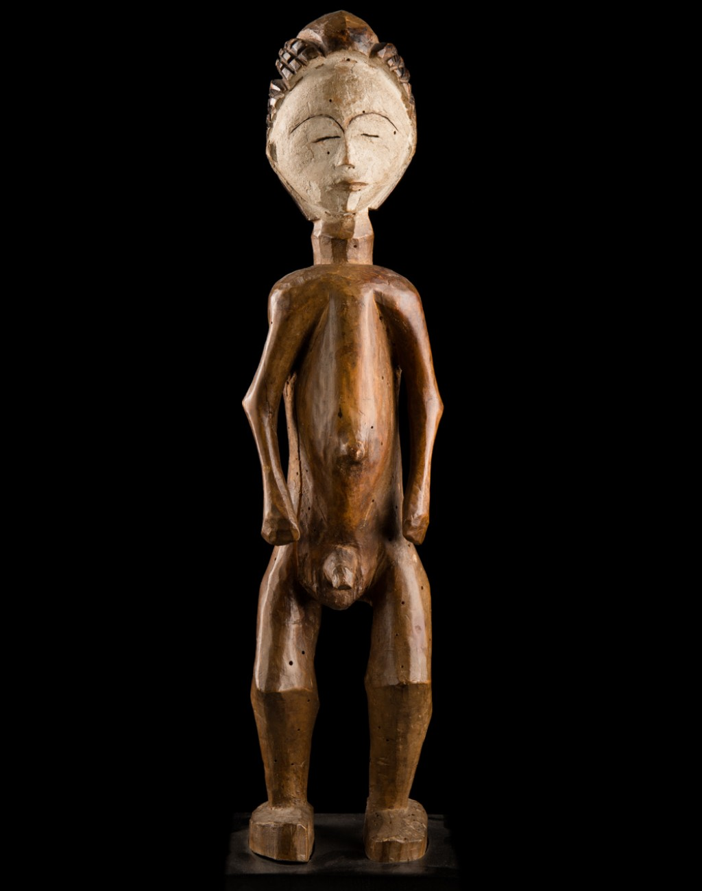 Punu, Gabon Wood - height 51 cm Provenance: Old European Collection