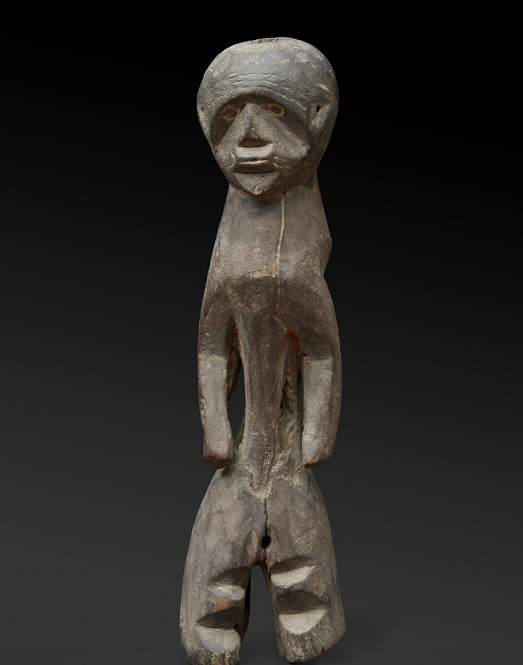 Mumuye, Nigeria Wood - height 42 cm Provenance: Jacques Kerchache, Paris