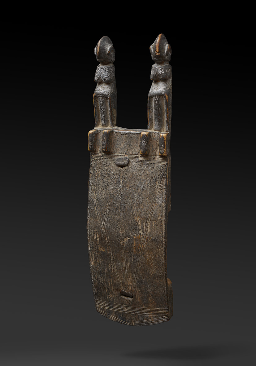 Serrure Bamana Mali Bois, 38cm